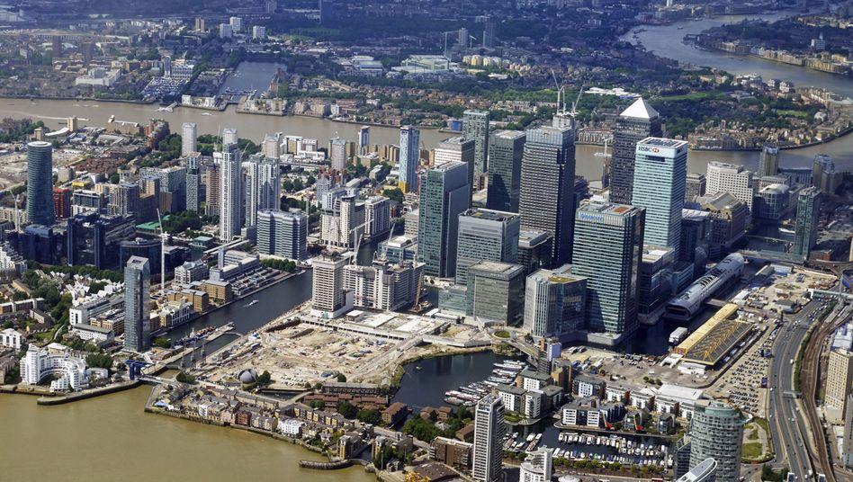 Londons Finanzdistrikt (Archivbild)