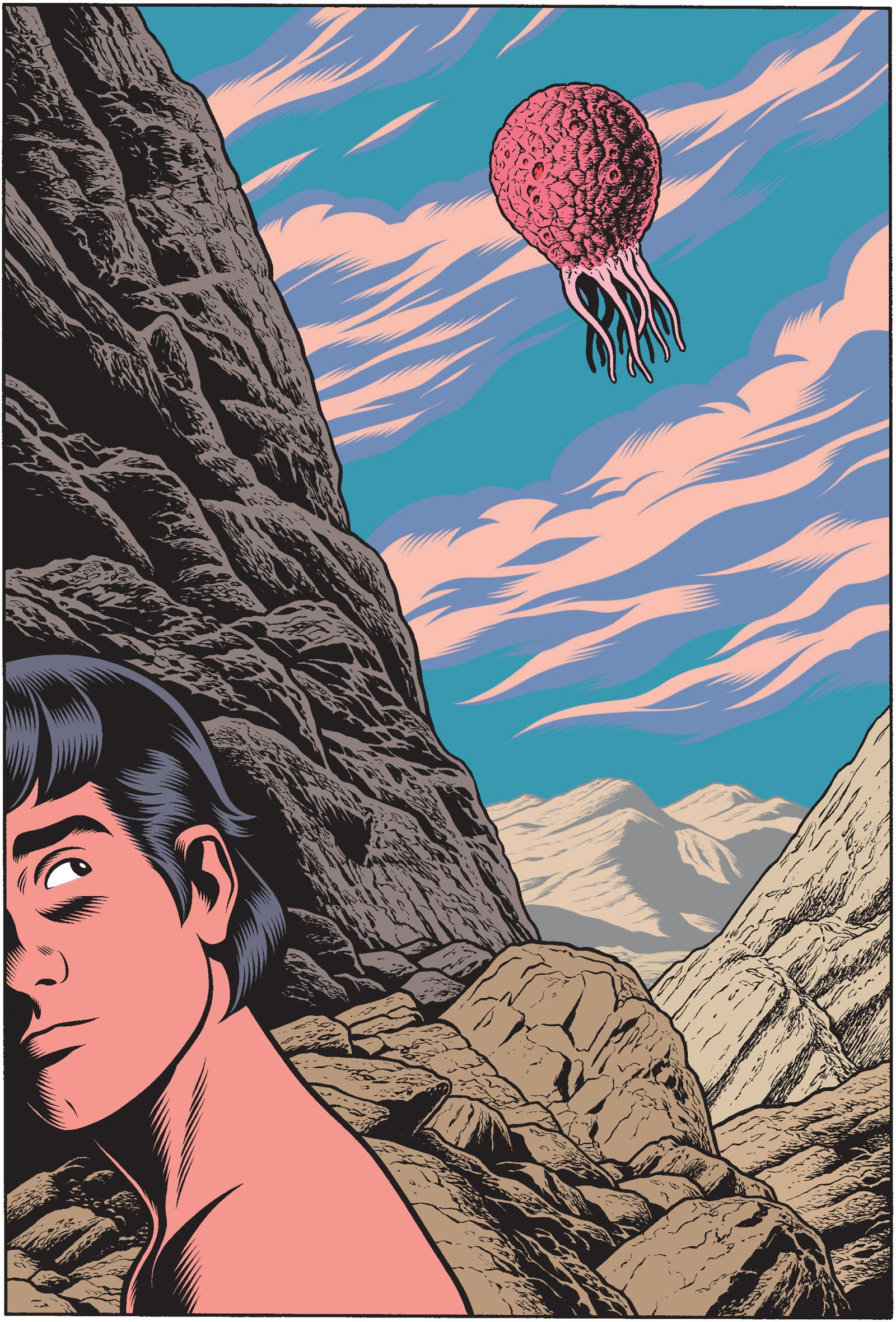 Comic/ Charles Burns: Daidalos 1