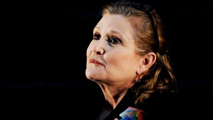 """Carrie Fisher: Prinzessin Leia aus """"Star """"Wars"""" ist tot"""