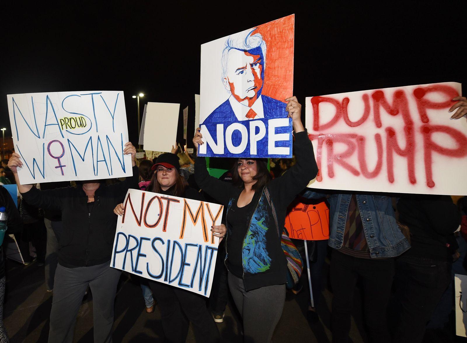 Las Vegas Proteste gegen Trump