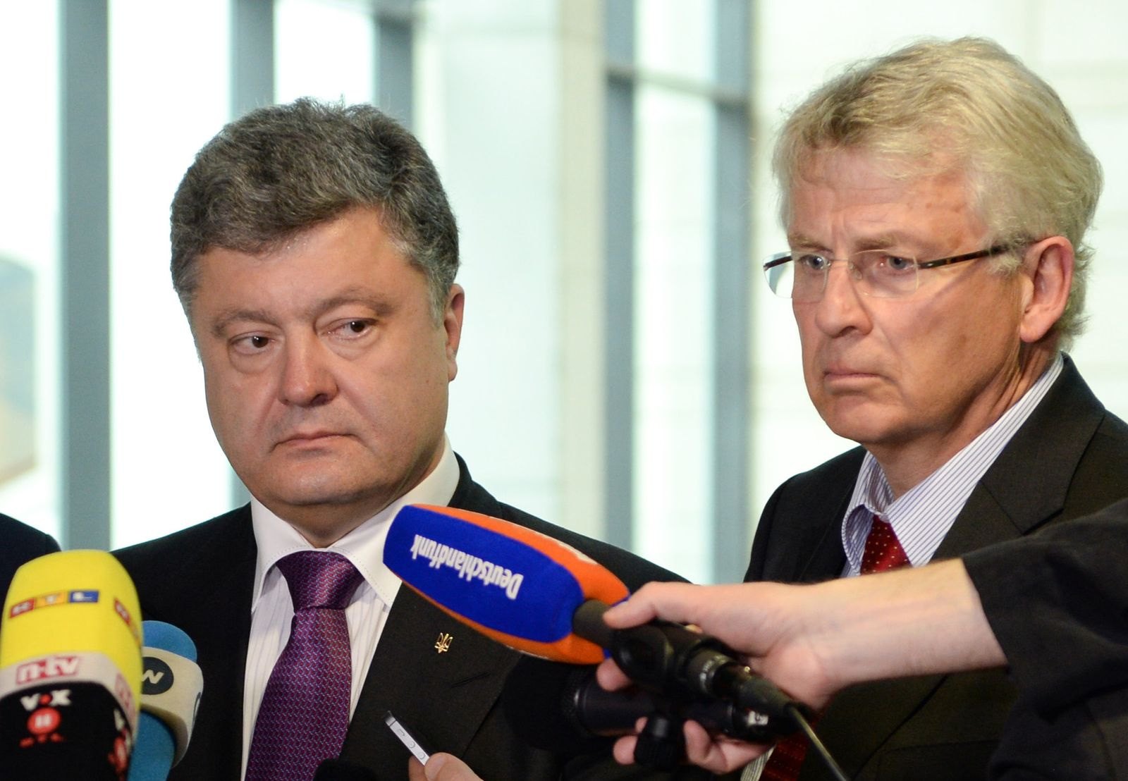 Karl-Georg Wellmann/ Poroschenko