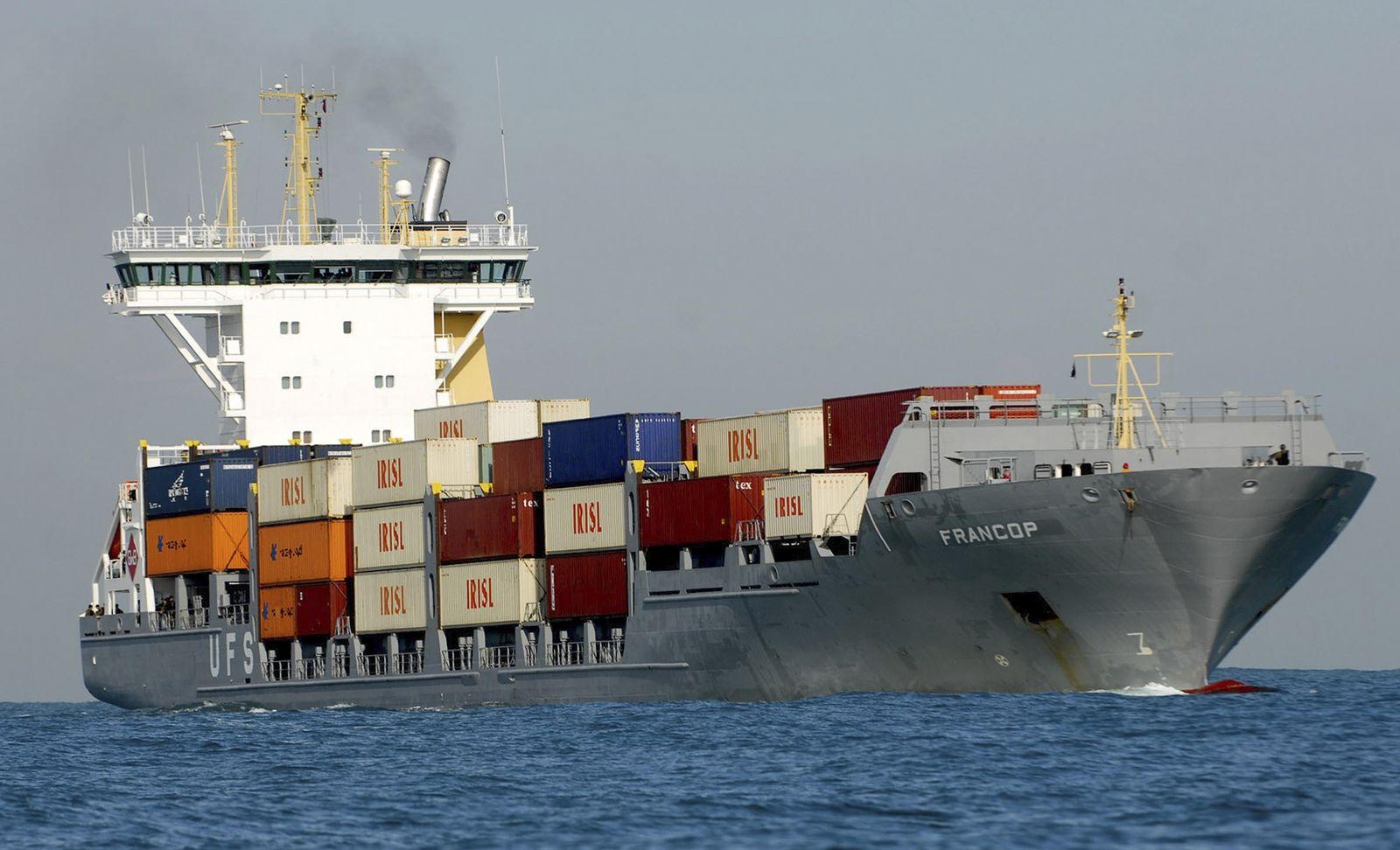Francop ship