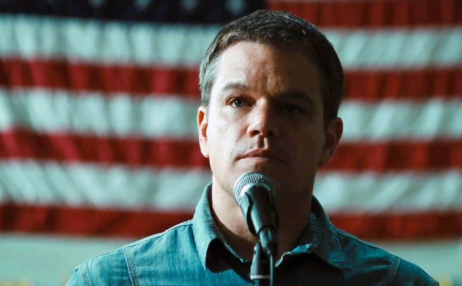 EINMALIGE VERWENDUNG Matt Damon / Promised Land