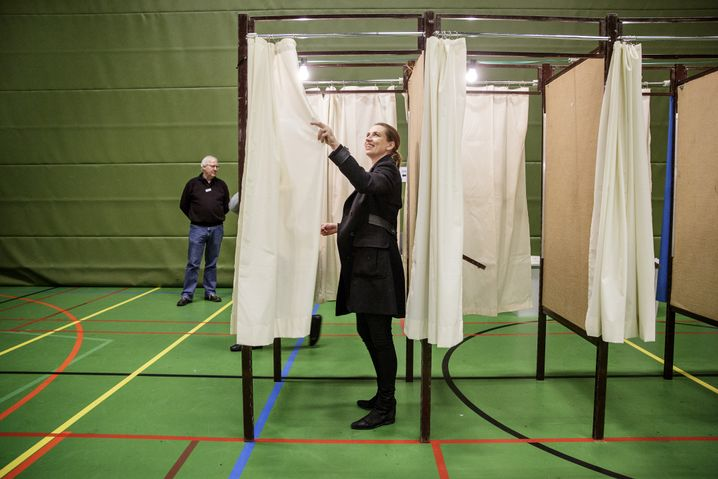 Dänische Sozialdemokratin Frederiksen 2015