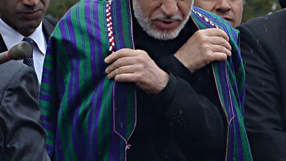 """Afghanischer Präsident Karzai: Aussagen """"nicht hilfreich"""""""