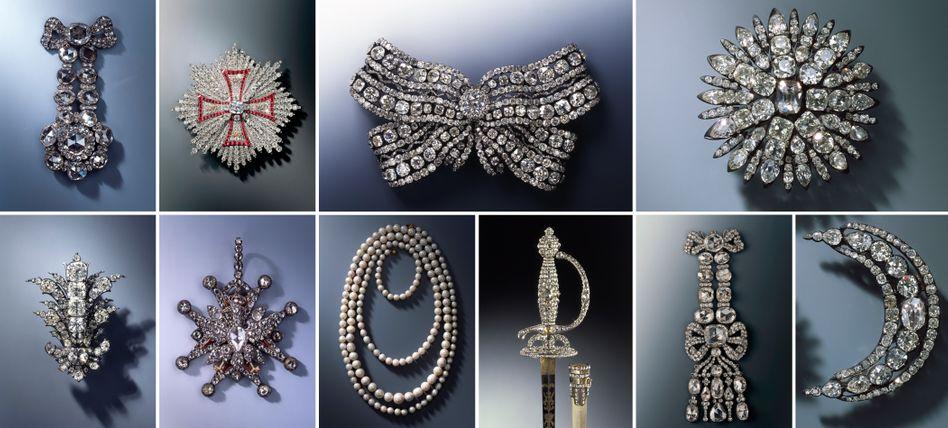 Juwelen gesucht: Von den Schmuckstücken aus dem Grünen Gewölbe fehlt jede Spur