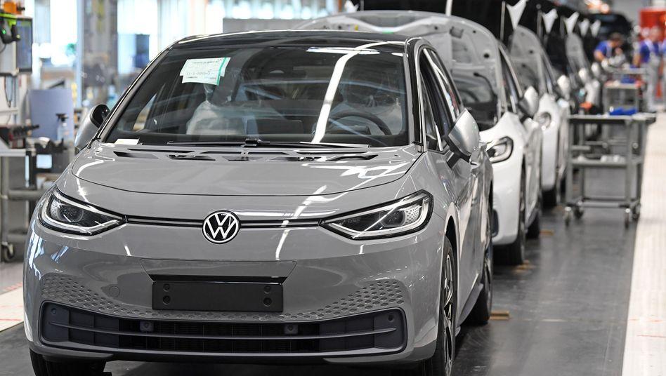 """Produktion des Volkswagen ID.3: """"Chancen zur Lösung globaler Mobilitätsfragen"""""""