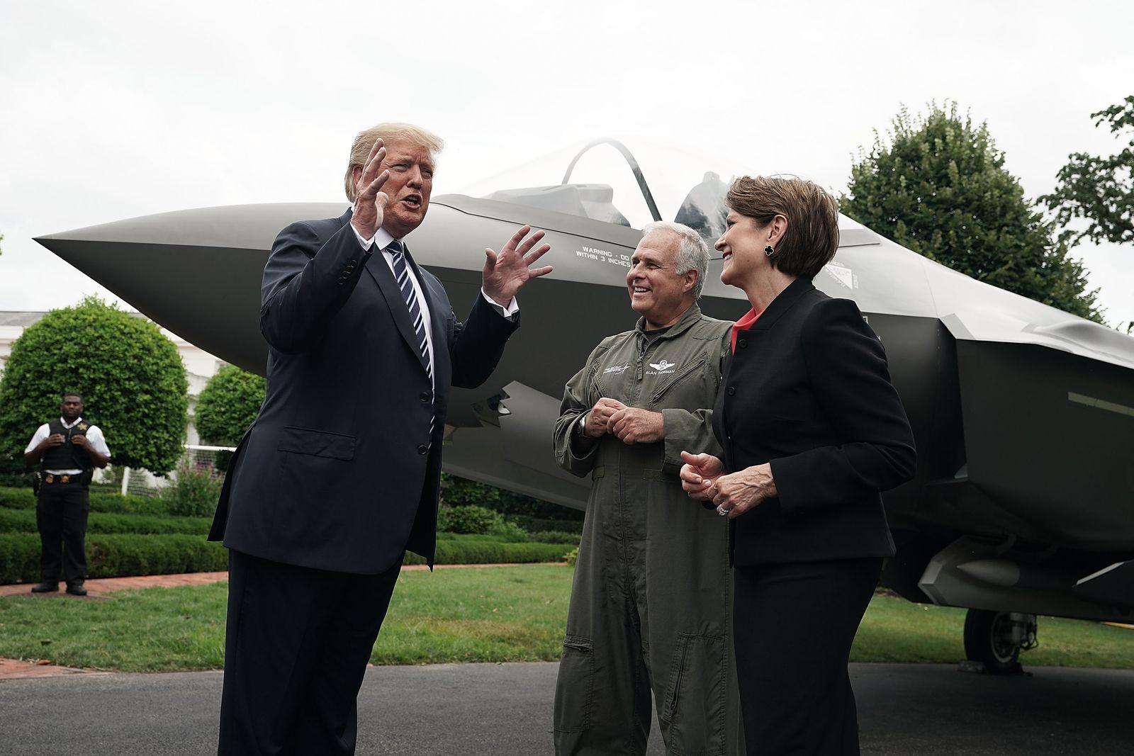 F-35/ Trump