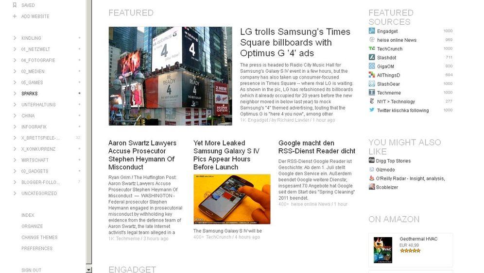 RSS-Leser: Alternativen zum Google Reader