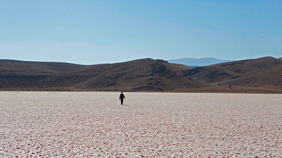 Ausgetrockneter See im Süden Irans (Archivbild): Immer wieder kämpft das Land mit Wassermangel