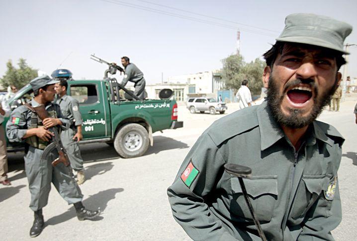 Afghanische Soldaten: Ohne Schutz der Amerikaner