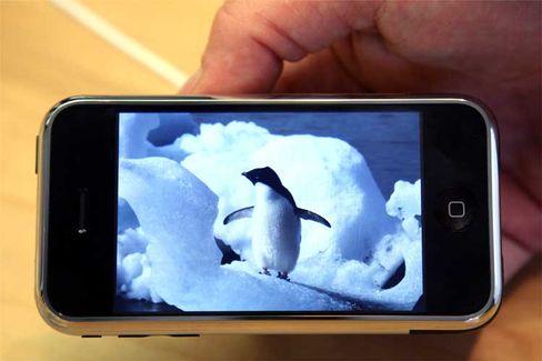 iPod auf dem iPhone: Fotos und Videos über die ganze Bildschirmbreite