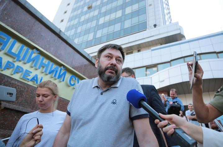 Freigelassen: Journalist Kirill Wyschinski