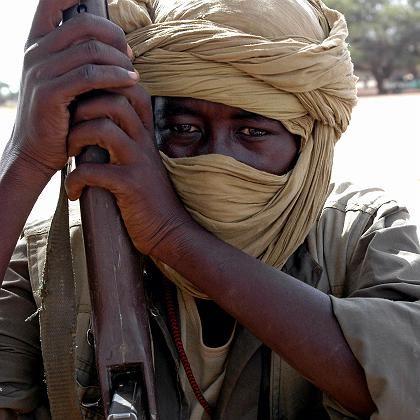 Kämpfer der Nationalen Befreiungsfront in Darfur: 100.000 Tote pro Jahr