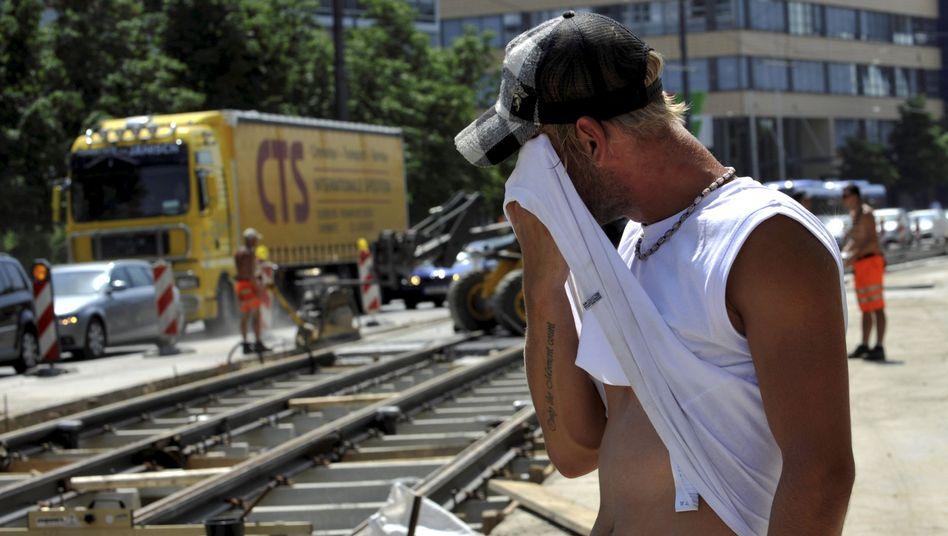 Schwitzen, schwitzen, schwitzen: Deutschland droht im Juli Jahrhunderthitze