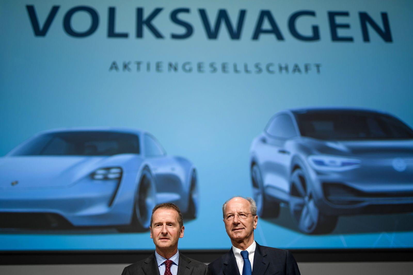 Volkswagen AG annual general meeting in Berlin, Germany - 03 May 2018