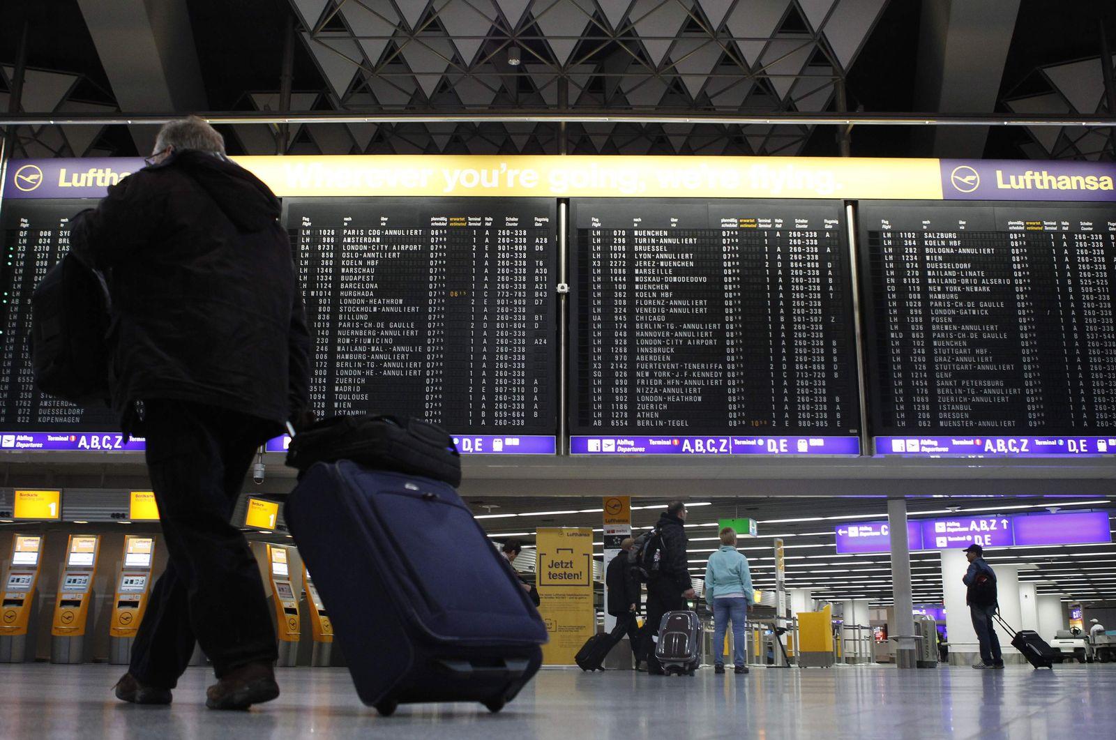 Flughafen Frankfurt/ Streik
