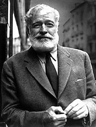 """Schriftsteller Hemingway: """"Ich mag Menschen"""""""