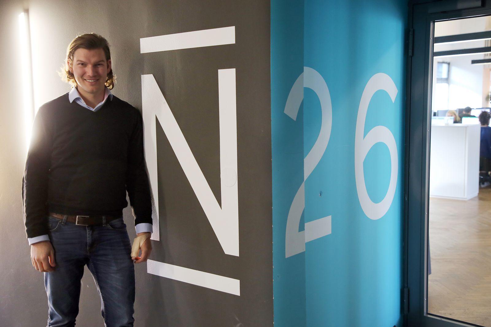 Finanz-Start-up N26 - Gründer Valentin Stalf