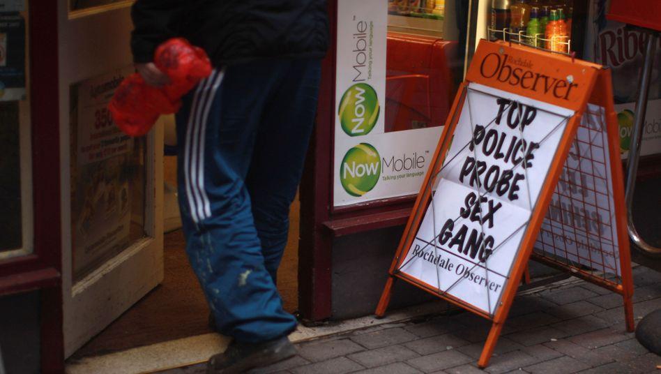 Rochdale im Januar 2011: Polizei rüstet auf