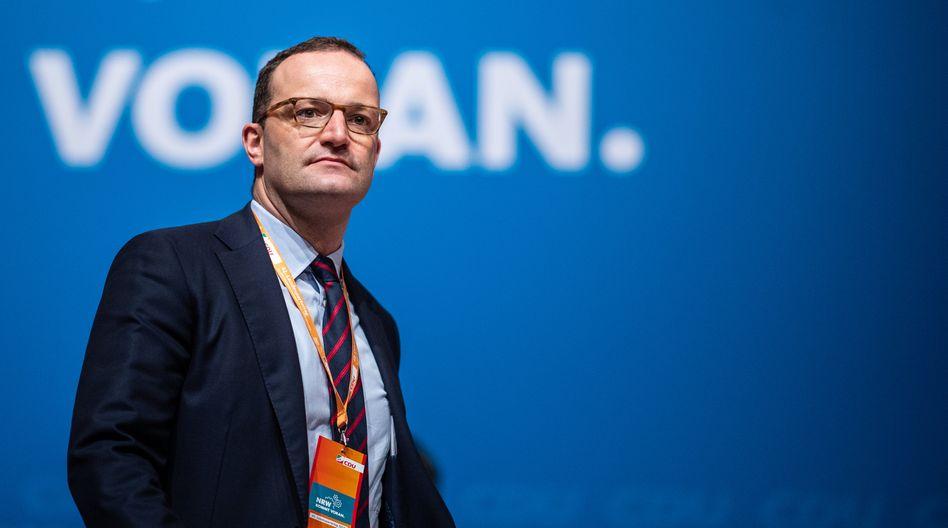 Jens Spahn (CDU) Anfang Juni (Archivbild)