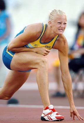 Königin im Mehrkampf: Carolina Klüft dominierte den Siebenkampf und gewann mit klarem Vorsprung