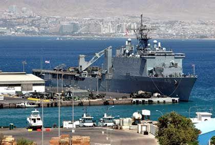 """Anvisiertes US-Krieggschiff im Hafen von Akaba: """"Bedingungsloser Feind"""""""