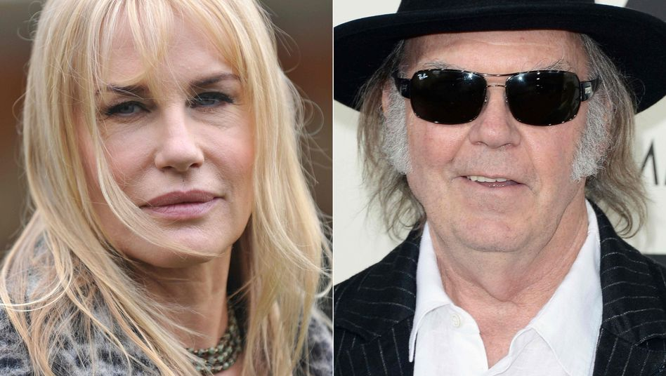 Daryl Hannah und Neil Young