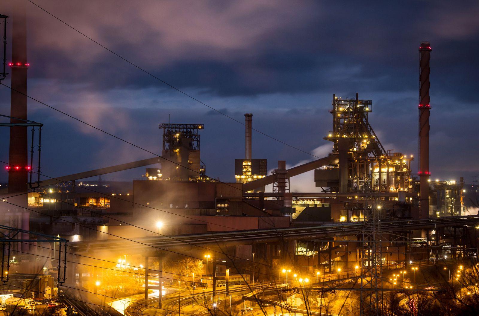 ThyssenKrupp Stahlwerk Marxloh