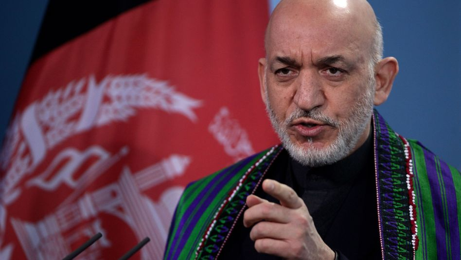 President Hamid Karzai expects the Afghan government to be standing on its own feet by 2014.