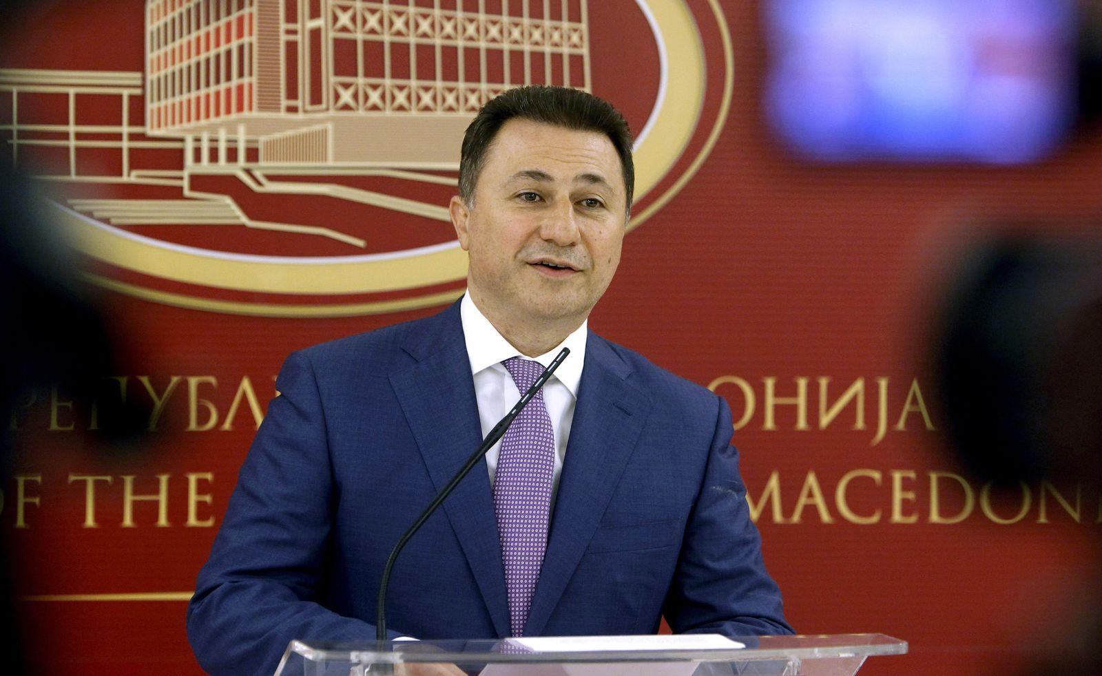 Mazedonien/ Nikola Gruevski