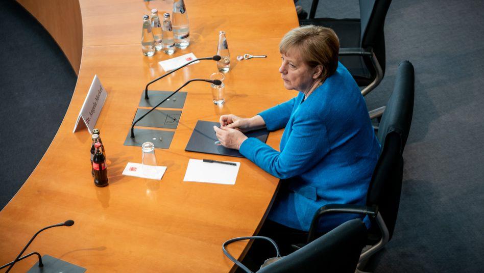 Merkel im Untersuchungsausschuss: »Kein Anlass, von schwerwiegenden Unregelmäßigkeiten auszugehen«