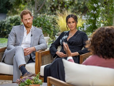 Harry und Meghan im CBS-Interview