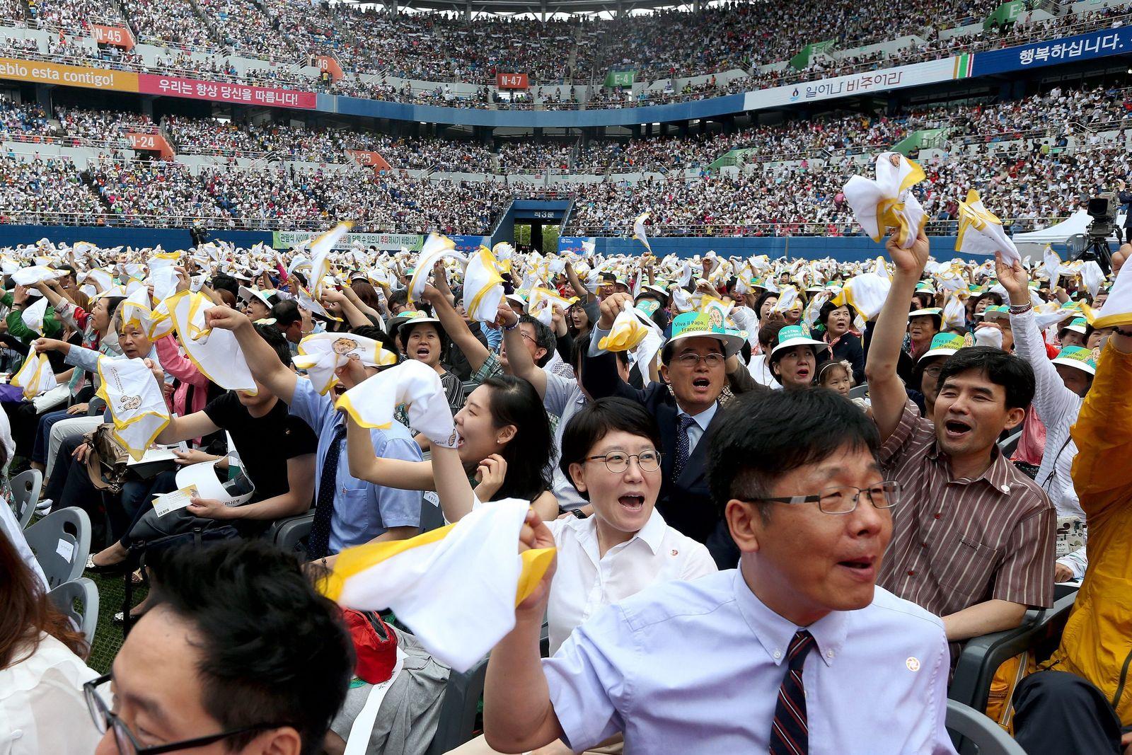 papst franziskus in Südkorea