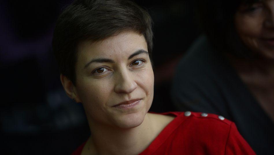 Spitzenkandidatin Keller: Setzte sich gegen Rebecca Harms durch