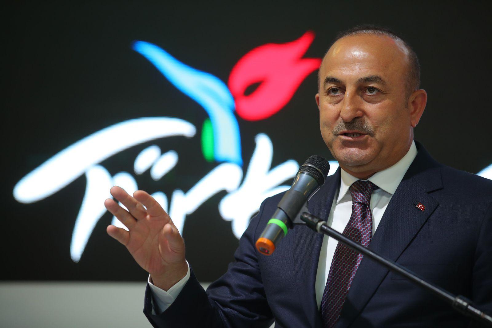 Außenminister Cavusoglu besucht ITB