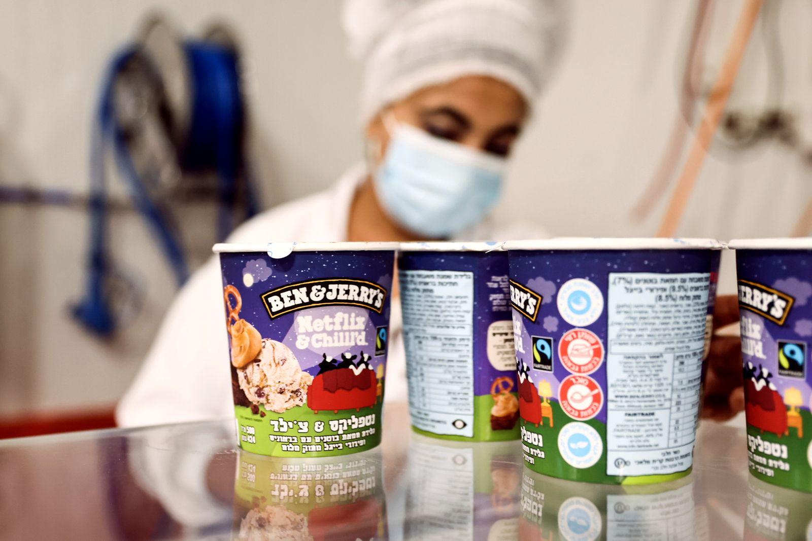Ben & Jerry's ice-cream factory in Be'er Tuvia