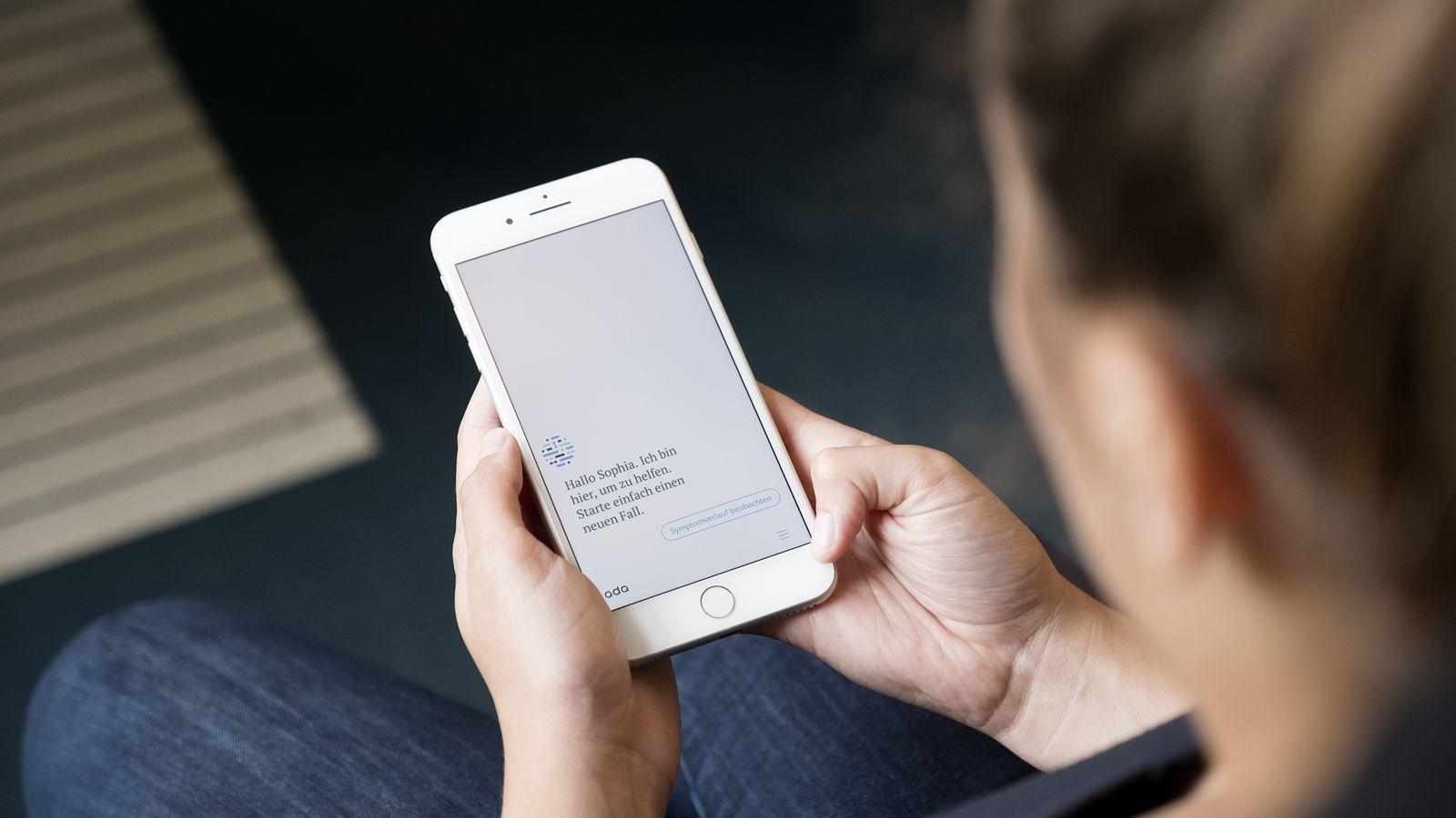 EINMALIGE VERWENDUNG Ada Health/ App