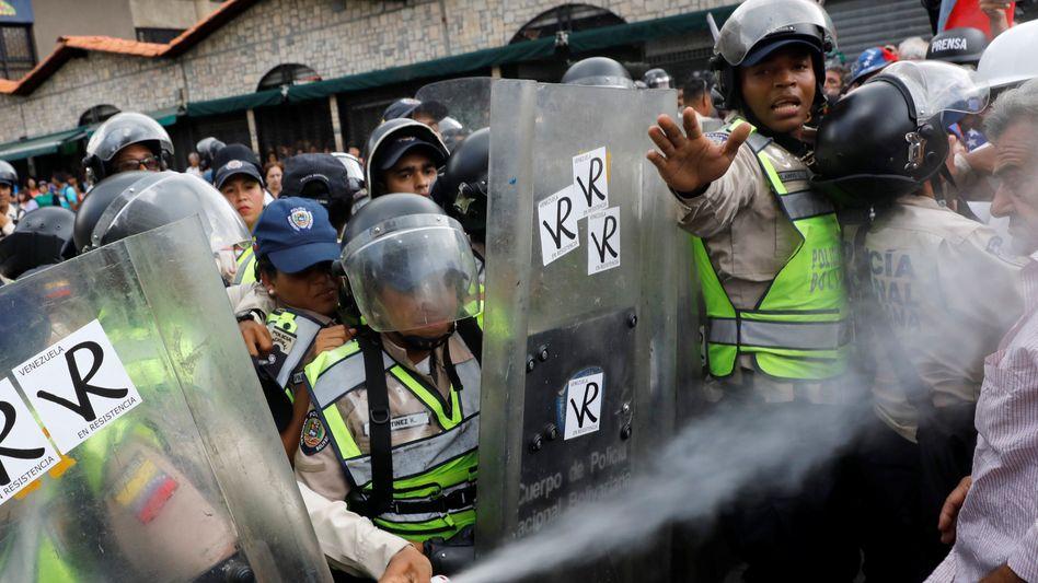 Demonstrationen in Caracas
