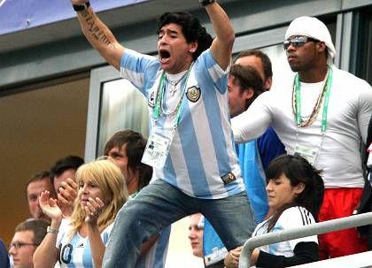 Fußball-Legende Maradona: Bereit für den Job als Argentinien-Coach