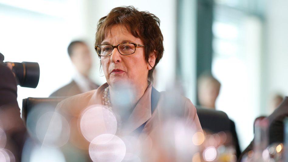 Wirtschaftsministerin Brigitte Zypries