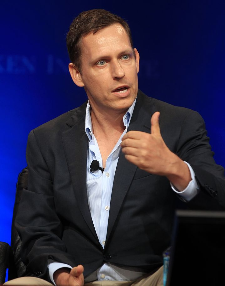 "Peter Thiel, founder of Paypal: ""I wanted to be part of the revolution."""