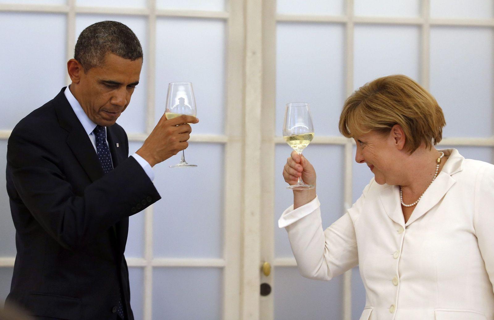 Barack Obama Berlin Merkel