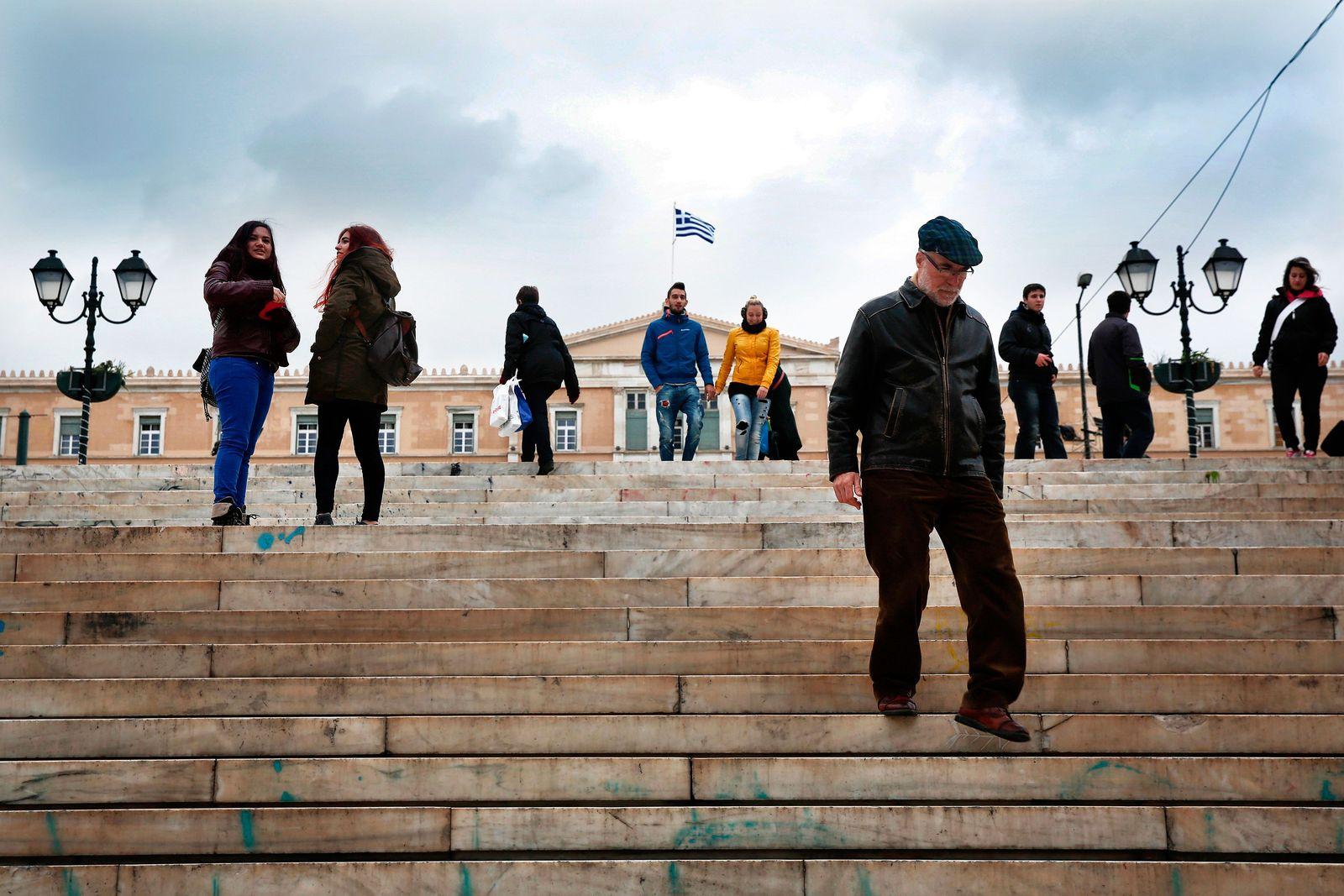 Griechenland / Finanzkrise / Parlament / Konjunktur / Euro-Länder