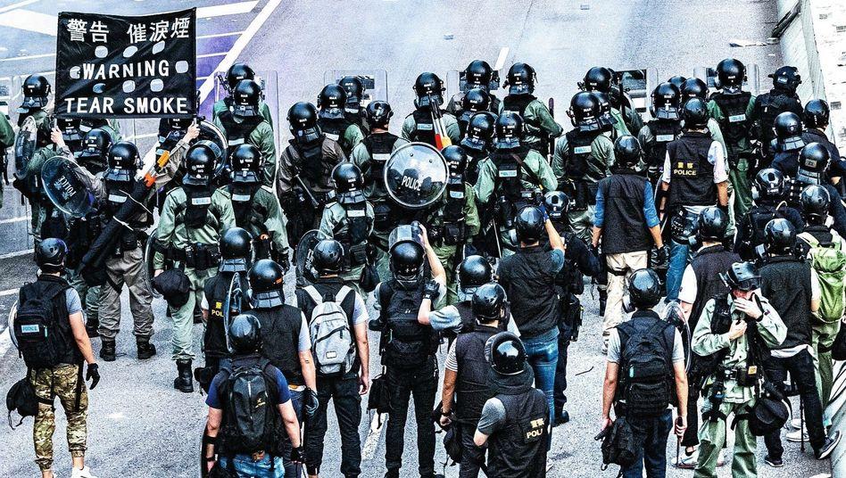 Demonstration am 24. August in Hongkong: Chinas Führung wird herausgefordert
