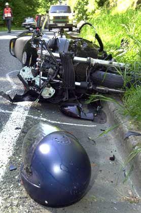 Gefährdete Motorradfahrer: Viele derüber 35-Jährigen haben wenig Fahrpraxis