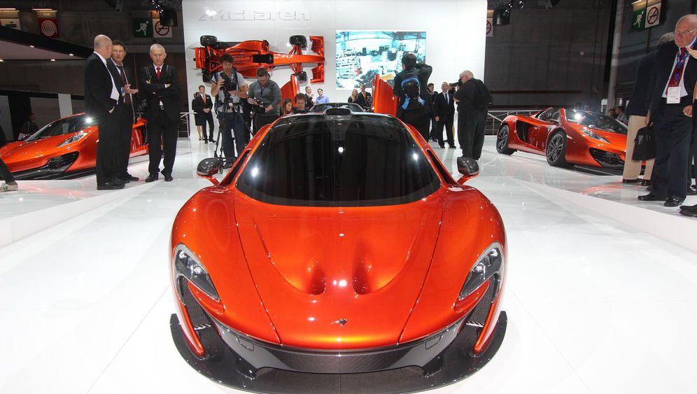 McLaren P1: Dynamit auf Rädern