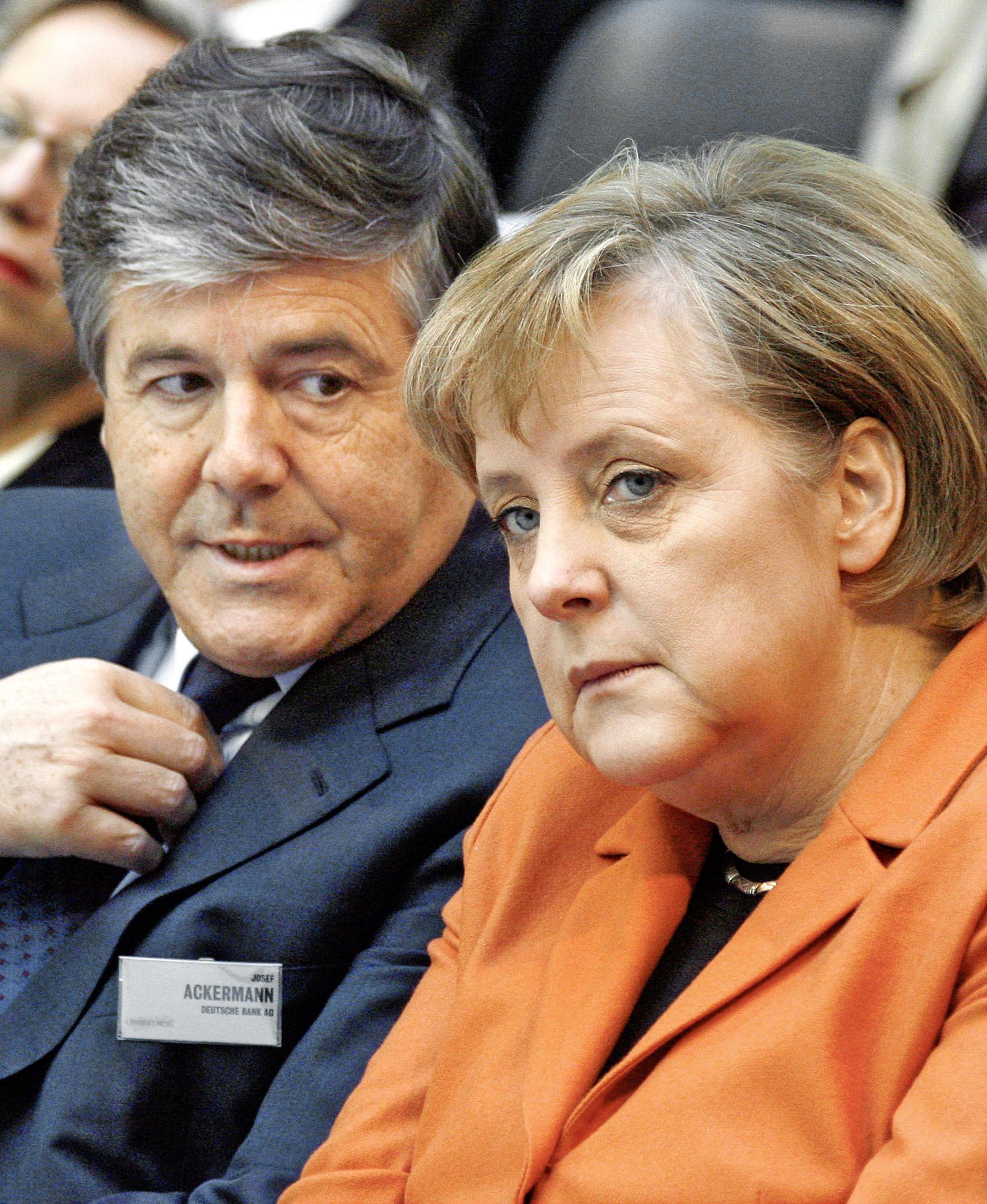 Ackermann Merkel (10.11.2006)