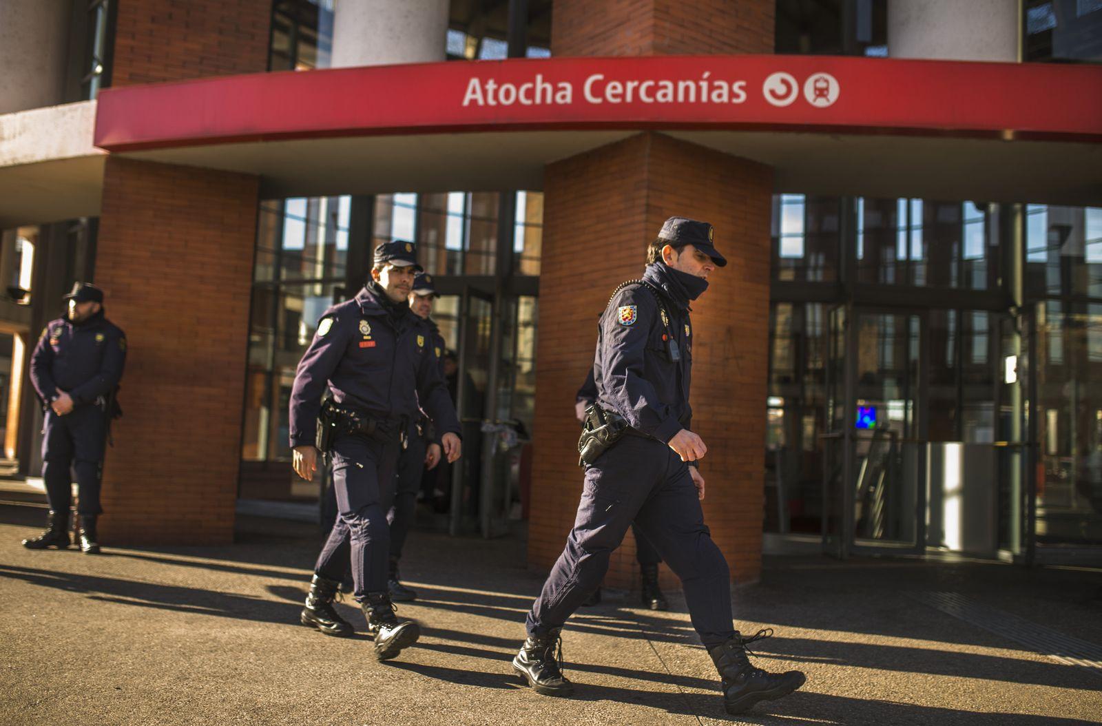 Spainien/ Madrid/ Atocha/ Bahnhof