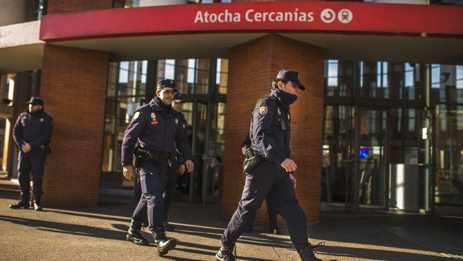 Polizeieinsatz am Atocha-Bahnhof: Verkehrschaos nach Bombenalarm
